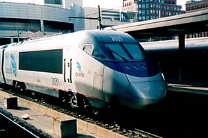 The one-high(er) speed train in the U.S- Acela