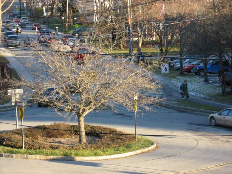 Landscaping at Keck Circle Roundabout