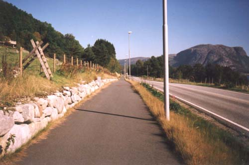 Trail outside Sandnes, Norway
