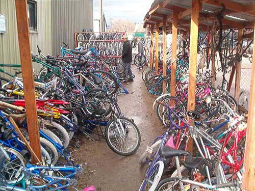 Bikes to choose from